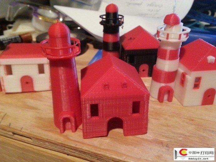 小房子STL文件下载(3D打印模型)