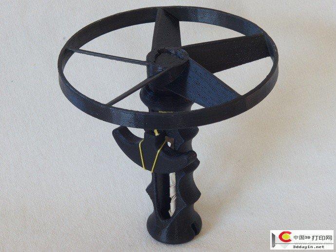 拉线直升机STL文件下载(3D打印模型)