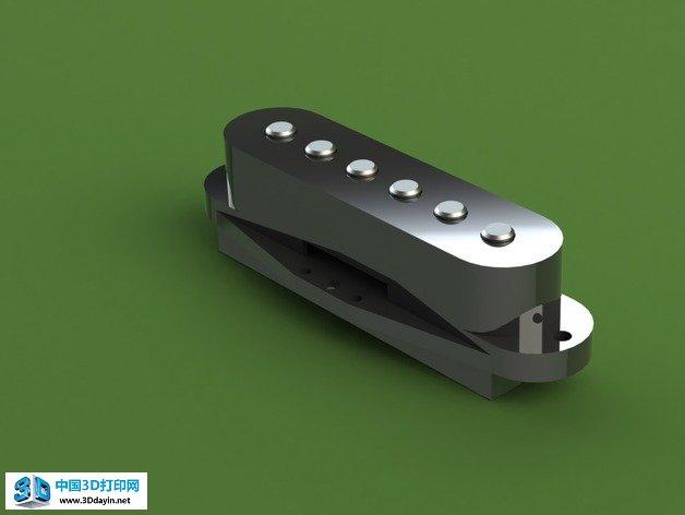 电吉他拾音器面板有划痕