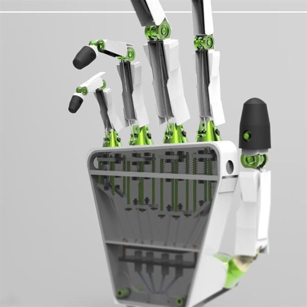 含27个关节完美模仿人手的3D打印假肢