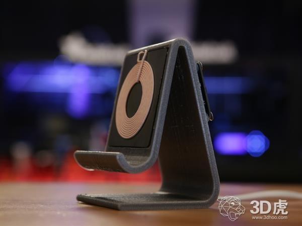 【DIY】5分钟自制3D打印Qi无线智能手机充电支架