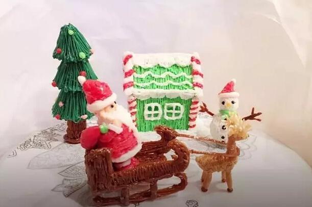 圣诞主题3d 贴画