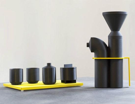 3D打印深海咖啡机 将小资生活带到海洋