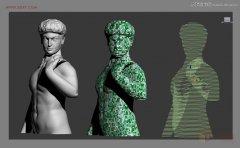 <b>3ds MAX制作抽象的BOX物体和人像建模</b>