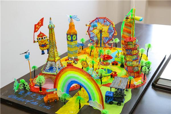 """3D打印笔下的""""世界之窗"""""""