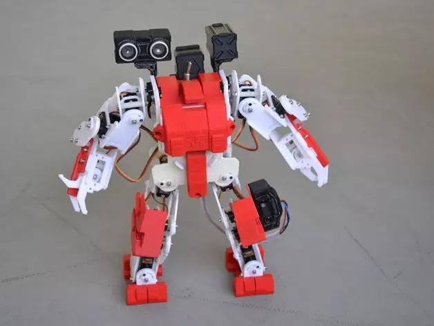 只要100美元的3d打印机器人图片