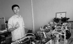 <b>王海龙用4个月独自造出3D打印机</b>