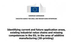欧盟发布工业级3D打印综合报告