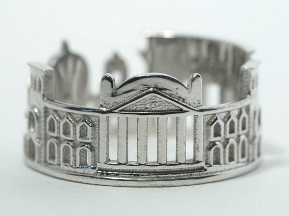 3D打印的柏林城戒