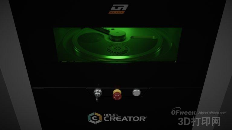 激光3D打印机ORLAS CREATOR将于下周面世