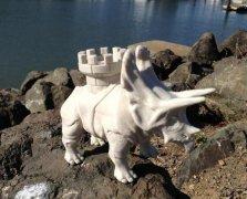 龙之战恐龙 STL文件下载(3D打印模型)
