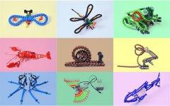 "3D打印玩具""bionicTOYS""可伸展、可弯曲、可扭曲"