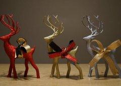 假日圣诞鹿 STL文件下载(3D打印模型)