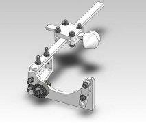 玻璃瓶切割夹具  STL文件下载(3D打印模型)