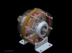 汽车变速箱 STL文件下载(3D打印模型)