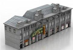 行政楼外观设计 STL文件下载(3D打印建筑)
