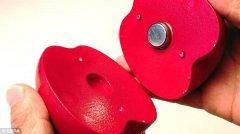 带传感器的3D打印水果可测试水果新鲜度