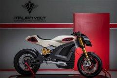 Italian Volt推百公里加速仅4.2秒的3D打印电动摩托车