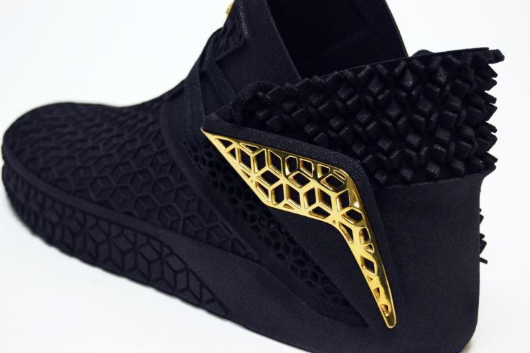 工业设计师的创世纪杰作:两双全3D打印鞋