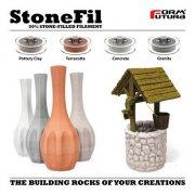 Formfutura推出含50%石头粉末的StoneFil 3D打印材料