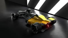 雷诺RS 2027 Vision F1概念车配备3D打印驾驶舱