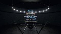 艺术家展出3D打印西洋镜作品 尽显繁花与群鸟之美