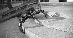 3D打印机制成六足机器人 轻松应对复杂地形