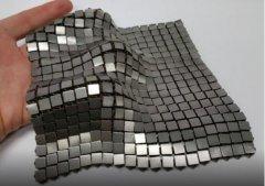 冷兵器复活?NASA用4D打印金属太空盔甲