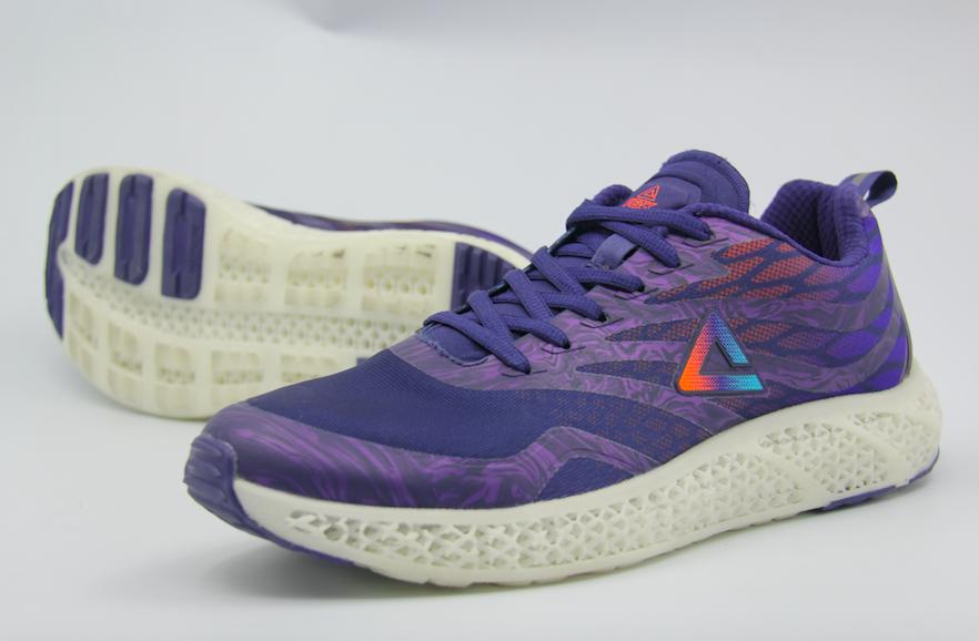 匹克全新3D打印跑鞋