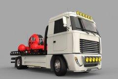 大型卡车 STL文件下载(3D打印模型)