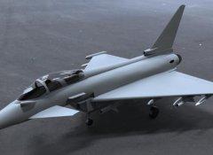 欧洲战斗机 STL文件下载(3D打印模型)