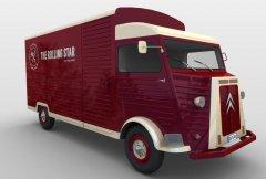 雪铁龙卡车 STL文件下载(3D打印模型)