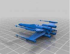 猎鹰战机 STL文件下载(3D打印模型)