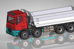 货车 STL文件下载(3D打印模型)