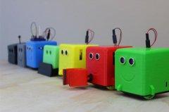 3D打印LittleBot机器人:专为孩子打造的STEM学习工具