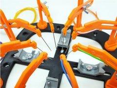 意大利创客发布低成本的3D打印PCB工作站更新版