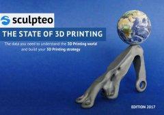 Sculpteo的2017 3D打印年度状况报告:行业更加专业化