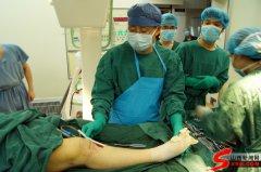 山西首台3D打印保膝截骨手术成功实施