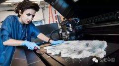 她的3D打印服装不仅能够呼吸,还能检测旁人的性别、年龄甚至注视