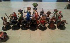 骨灰级玩家3D打印出近300个《龙与地下城》游戏角色