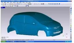 比亚迪汽车使用激光3D扫描使新车研发流程更便捷精准