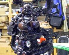 佛与龙雕塑 STL文件下载(3D打印模型)