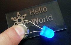韩国研究员开发出一种热稳定的银基导电3D打印材料