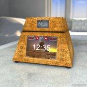 <b>赖床克星!这款3D打印外壳的闹钟有14种方法叫你起床</b>