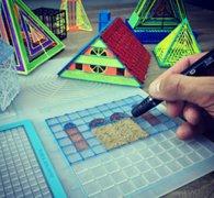 告别徒手画:3Dmate设计垫提高3D打印笔创作的精度和准确度