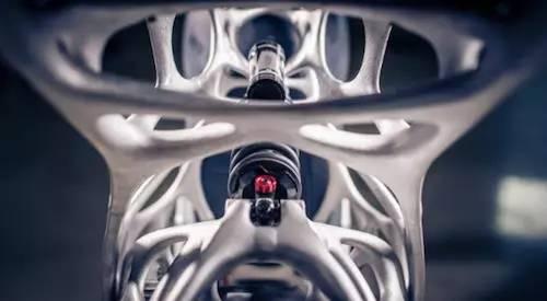 空客子公司首辆3D打印电动摩托亮相,未来汽车或许可直接打印