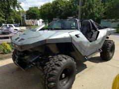 3D打印的M12轻型侦察车将来可以合法的在街道行驶