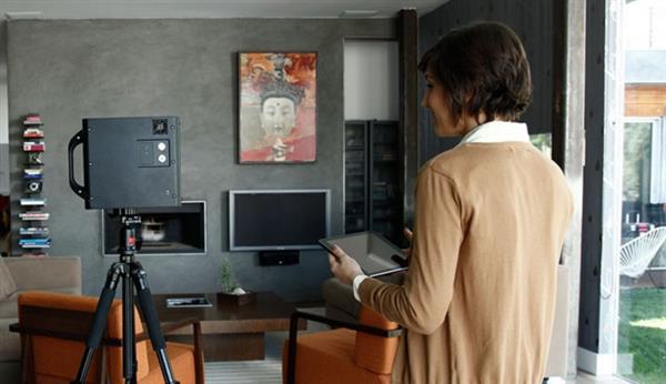 3D扫描技术帮助房地产经纪人扫描房屋
