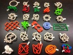 弗吉尼亚学生使用3D打印模型来演示拓扑的数学概念