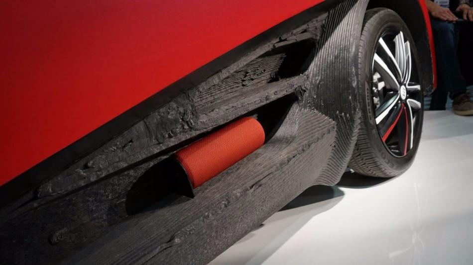 全球首款3D打印电动汽车:售价5.3万